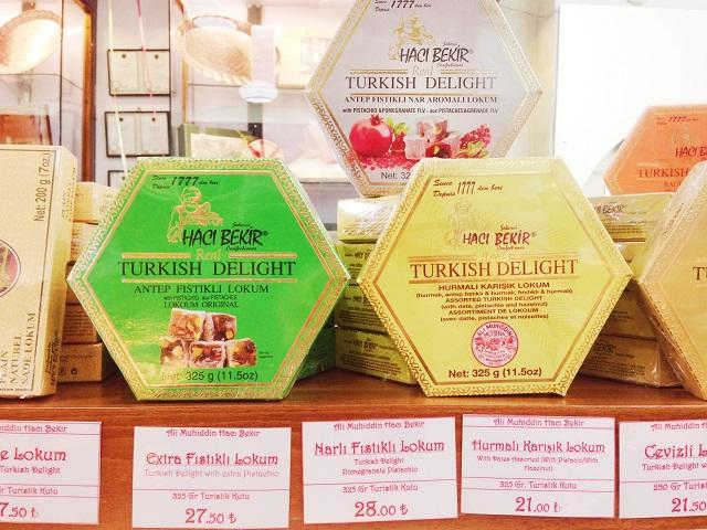 トルコの名物土産ロクム 老舗「ハジュ・ベキル」6