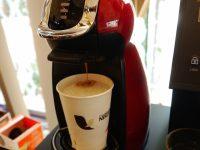 スタイリッシュで簡単操作!美味しいコーヒーがすぐに何杯でも飲める新型マシンが登場!