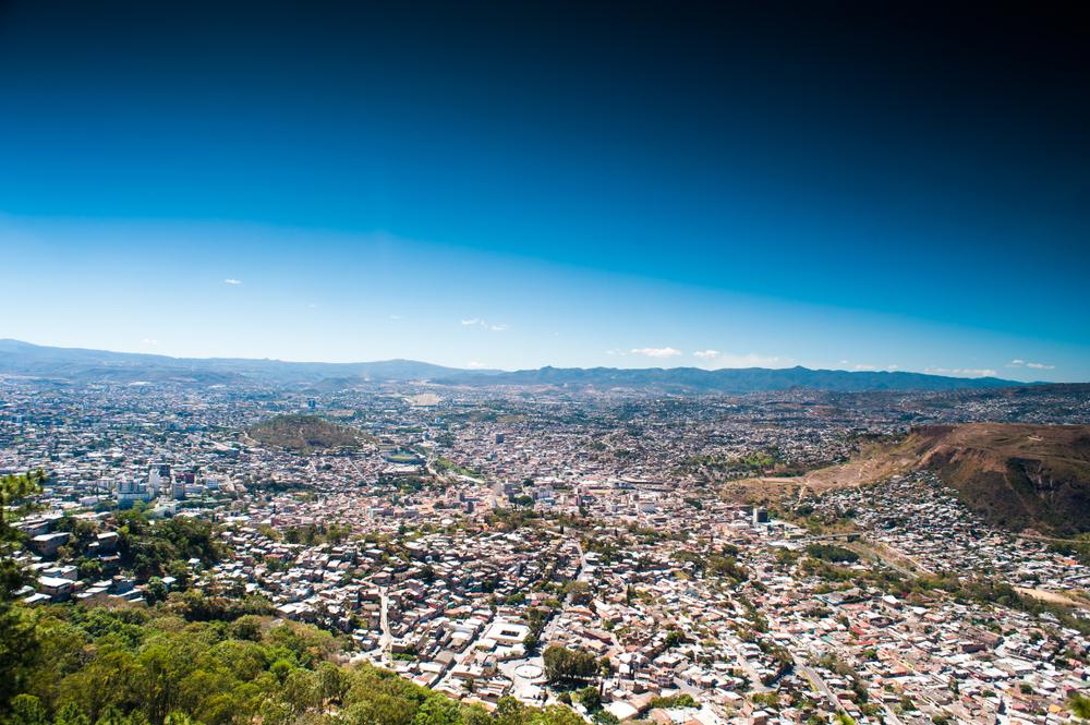 ホンジュラス サン・ペドロ・スーラの街