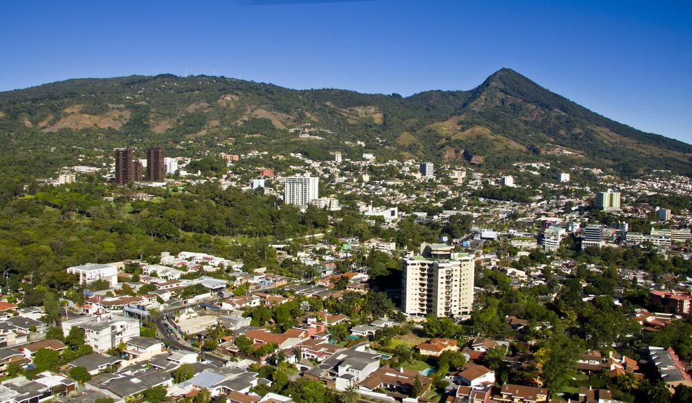 エルサルバドル 首都サンサルバドル