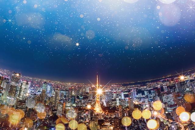 六本木ヒルズ展望台 天空のクリスマス
