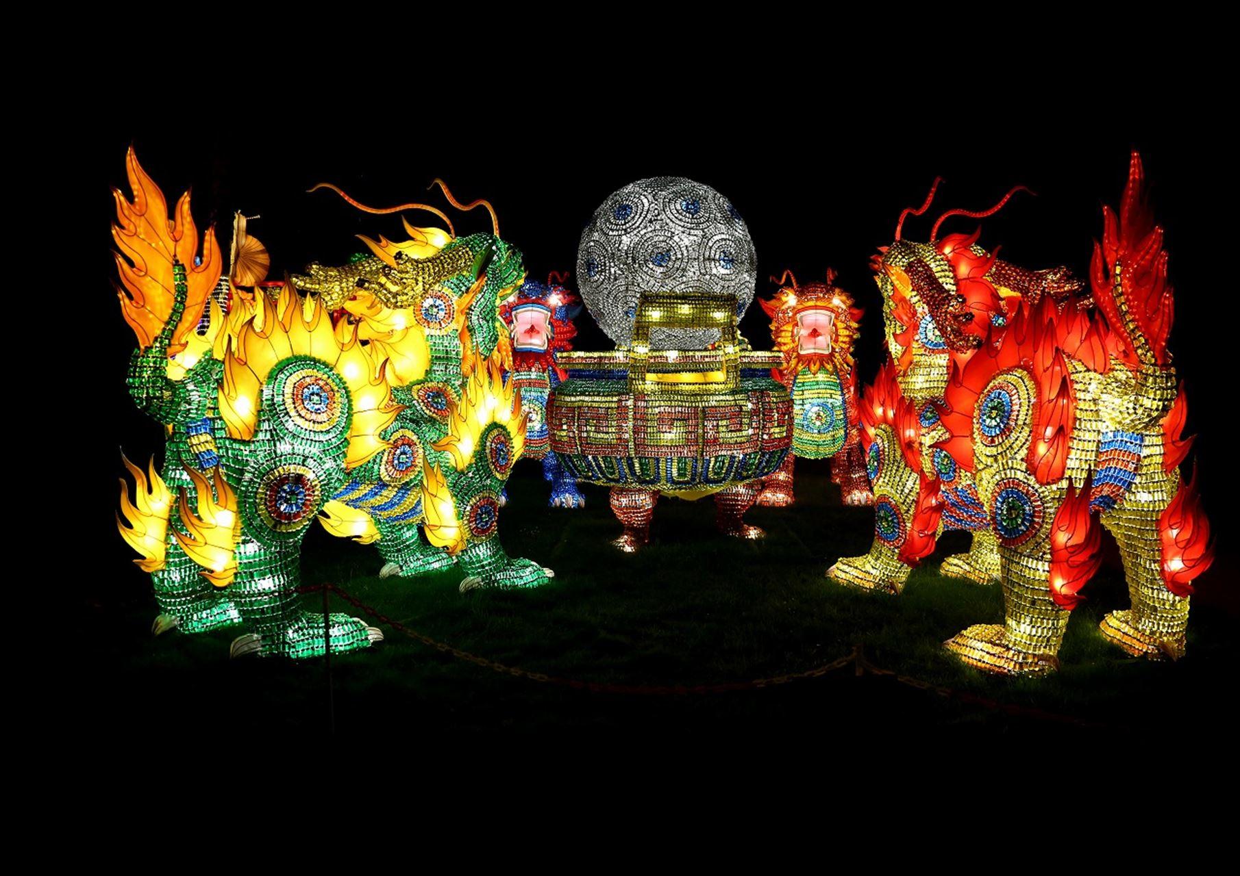 壮大なスケール!「チャイナランタンフェスティバル」が日本に初お目見え