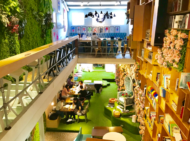 台湾 台北「奧蘿茉/オロモCafe」店内4