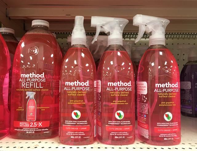 女性の心を鷲掴みする自然派万能洗剤 メソッド オールパーパス