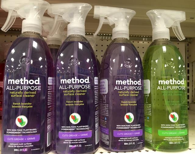カクテルみたいな色が可愛い自然派万能洗剤 メソッド オールパーパス