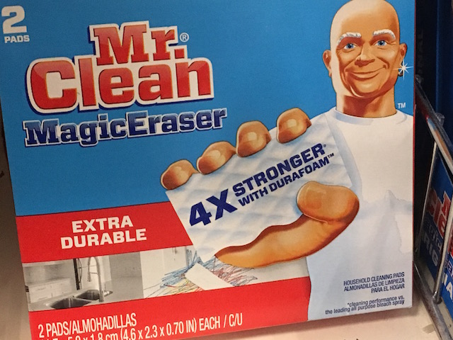 バスタブの風呂垢も落ちる ミスタークリーン マジックイレイサー