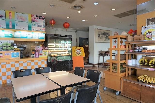 台湾・元祖パパイヤミルクの「高雄牛乳大王」本店店内