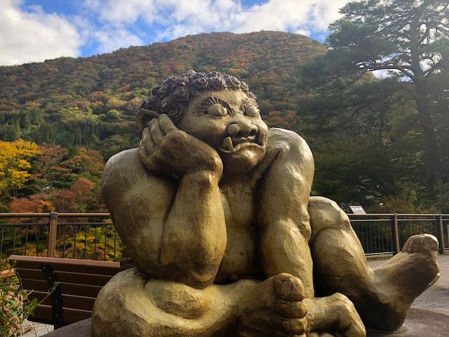 滝見橋の鬼怒太「思惟鬼(しいき)」