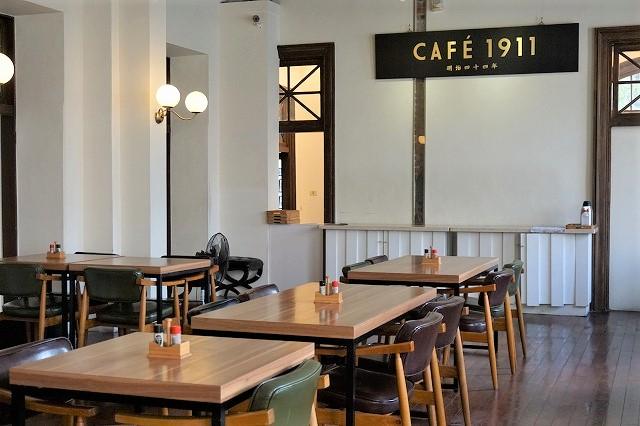 台湾「CAFE1911」店内