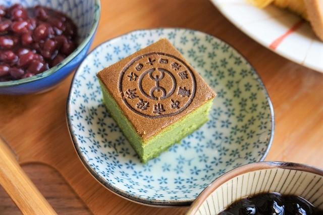 台湾「CAFE1911」猫かき氷 京都抹茶蜂蜜ケーキ