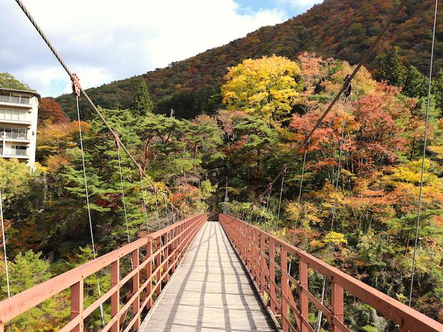 鬼怒川温泉 滝見橋