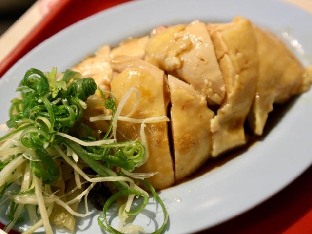 台北 シンガポール料理店「文慶鶏」海南鶏飯套餐2