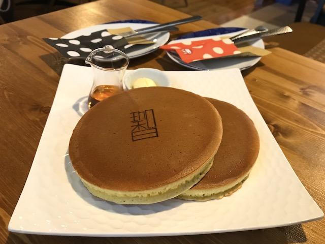 珈琲茶屋 珈香和‐COCOWA ホットケーキ