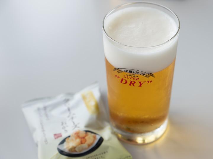 アサヒビール神奈川工場 ビールとおつまみ