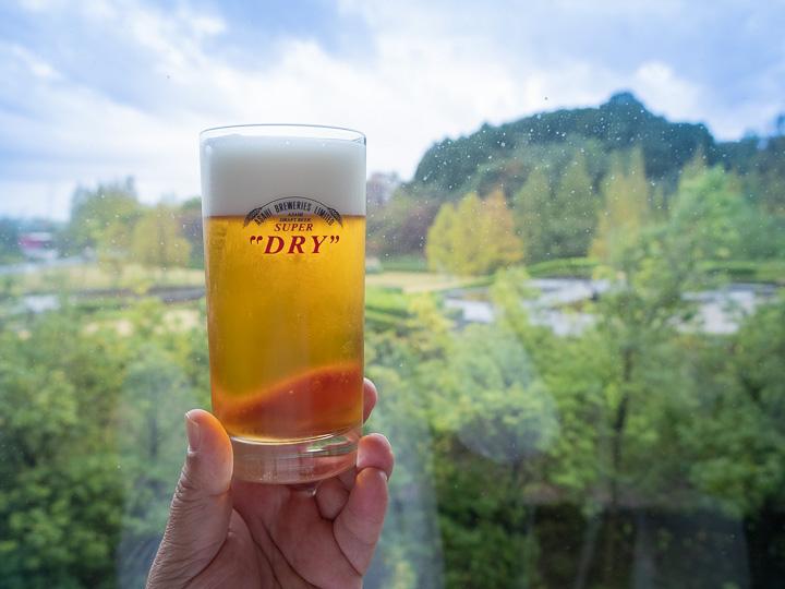 アサヒビール神奈川工場 試飲ビール