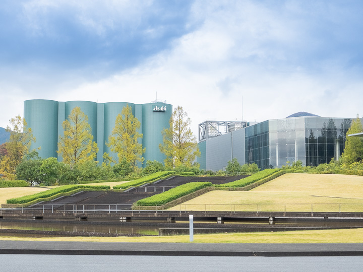 アサヒビール神奈川工場 外観