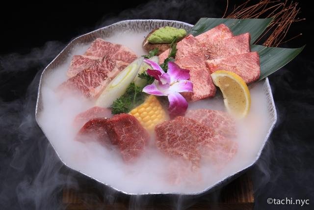 焼肉ふたご ニューヨーク店 焼肉の肉質はニューヨークで一番かも。