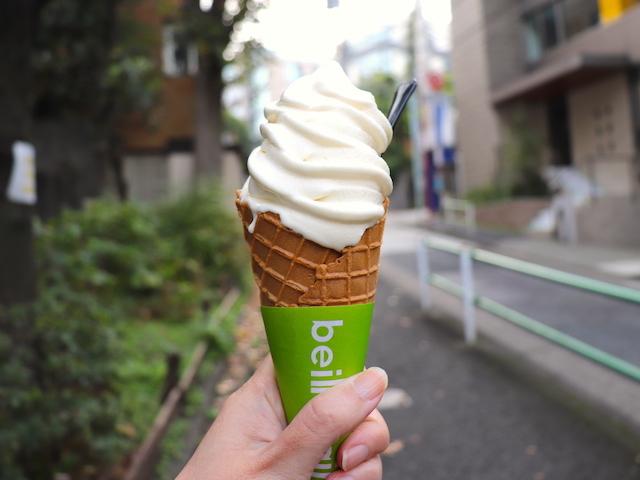 東京・麻布十番「beillevaire(ベイユヴェール)」ソフトクリーム