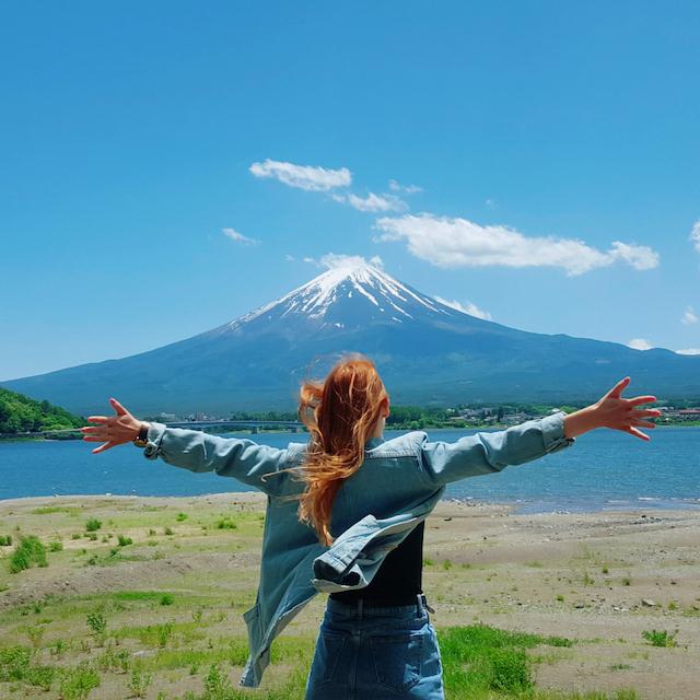 Sandraさん提供写真 富士山河口湖