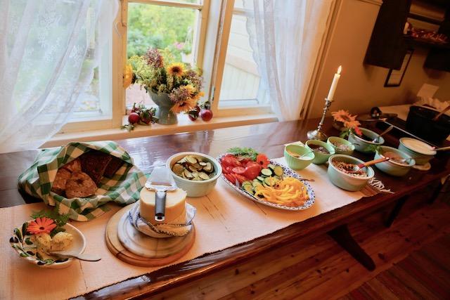 フィンランド ハーブ農園 ヴィーガンレストラン
