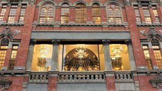 スターバックスコーヒー保安門市 外観窓