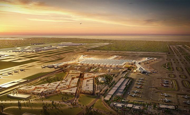世界最大級のイスタンブール新空港