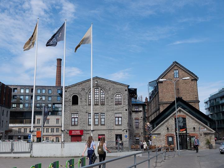 エストニア タリン 倉庫街