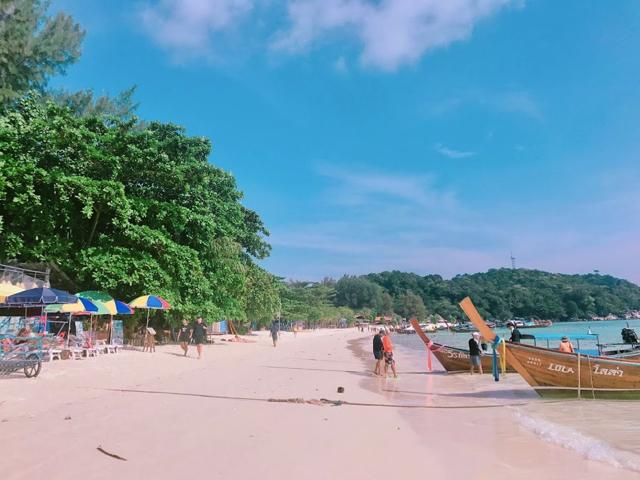 タイ「リペ島」パタヤビーチ