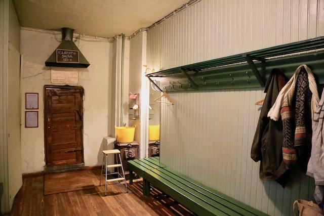 ラヤポルティ・サウナ<Rajaporti Sauna>更衣室