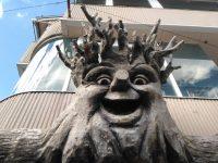 清里 メルヘン建築 廃墟 顔のある木