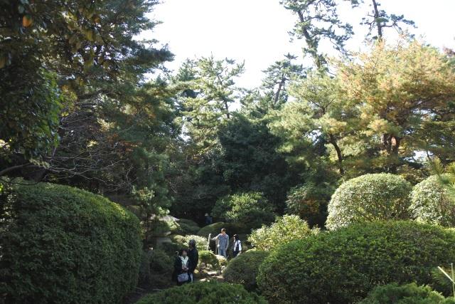 旧陸奥邸の日本庭園