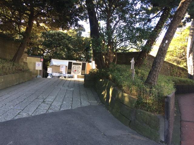 旧大隈邸・旧陸奥邸入口