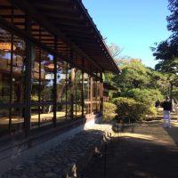 旧大隈邸 富士の間前