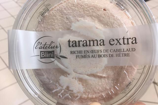 タラマ フランスのスーパーではこのように販売