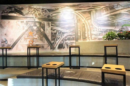 スターバックスコーヒーTHE鍾路(チョンノ)店 テーブル席2