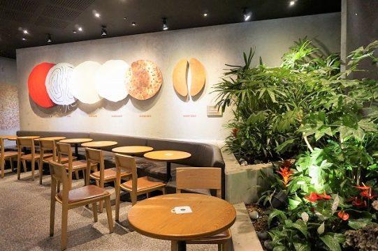スターバックスコーヒーTHE鍾路(チョンノ)店 テーブル席3