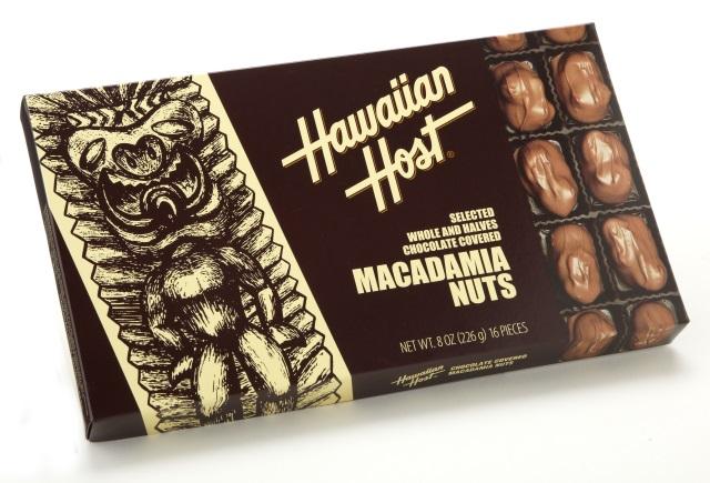 ハワイ土産の超定番 ハワイアンホーストのマカデミアナッツチョコレート