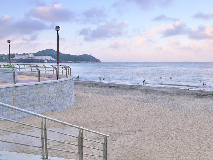 黒沙海灘(ハクサ・ビーチ)