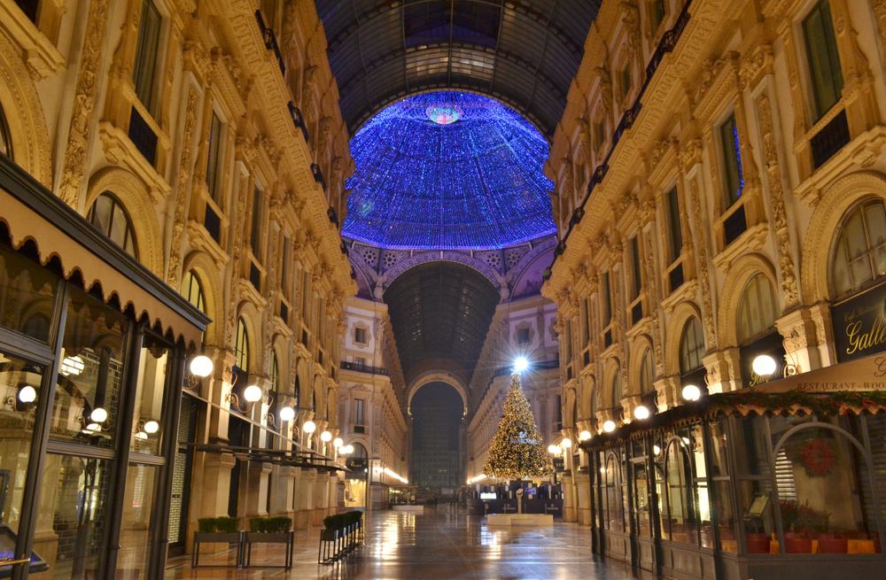 イタリア ミラノのクリスマス
