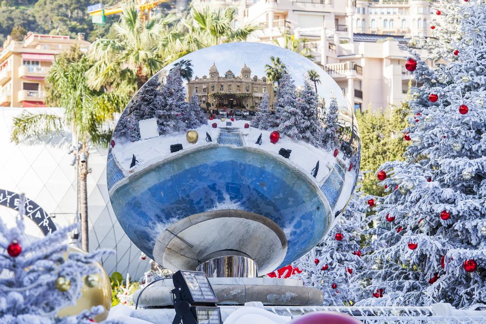 モナコ モンテカルロのクリスマス