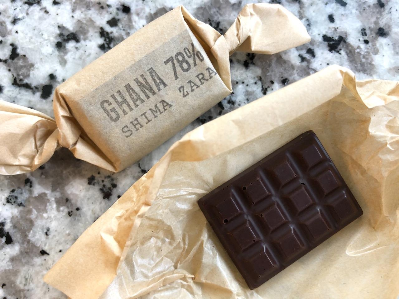 タイムレスチョコレート GHANA 78%