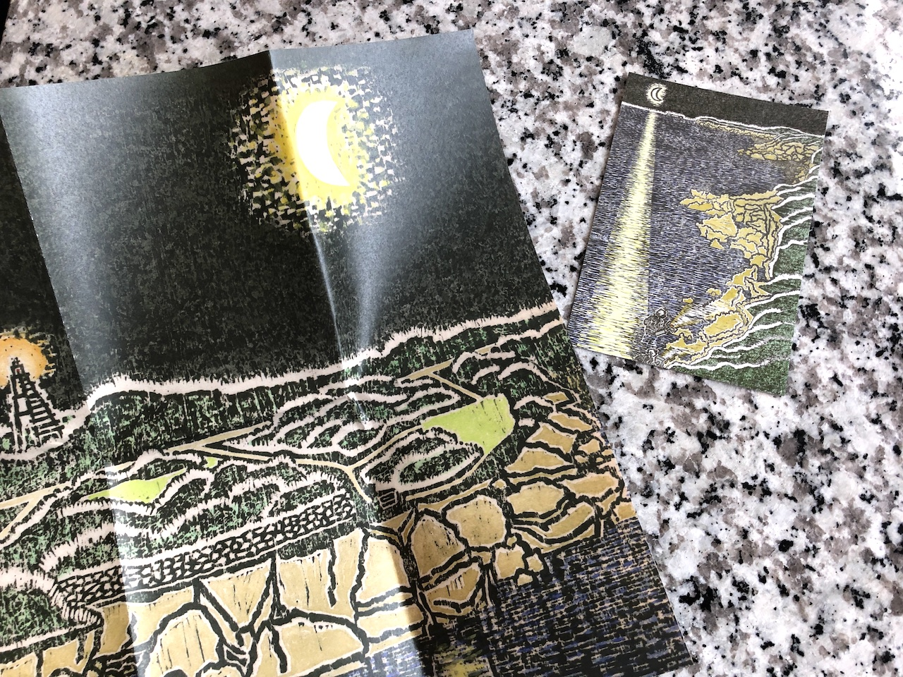 海蛇の粉 絵葉書