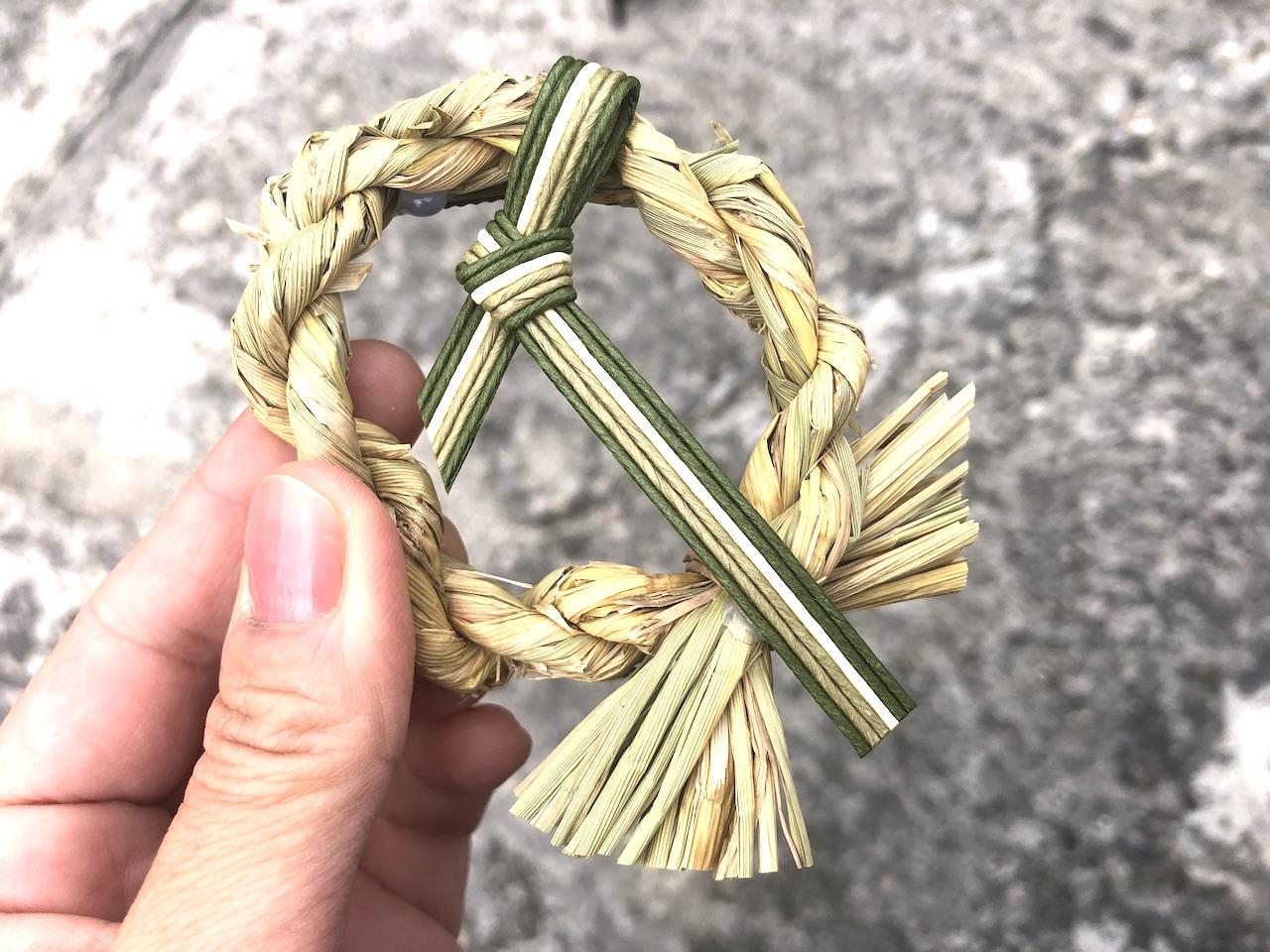 久高島 魔除けのお守り「サン」を模したブローチ