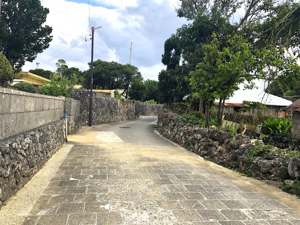 久高島 集落