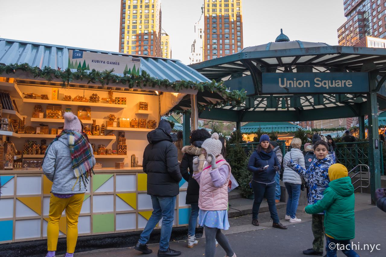 ニューヨーク ユニオンスクエア 地下鉄駅