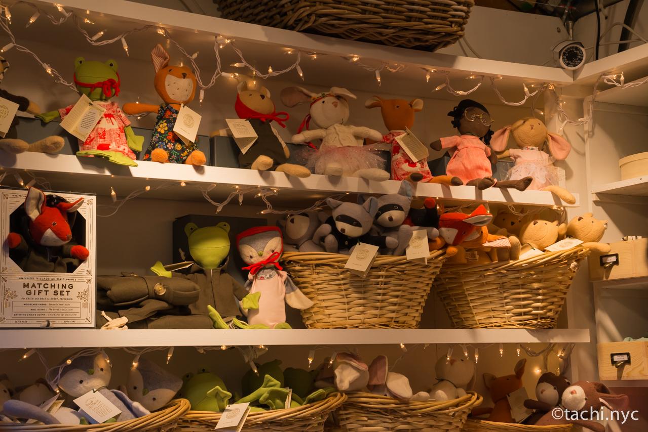 ニューヨーク ユニオンスクエア ホリデーマーケット フェルトで出来たお人形