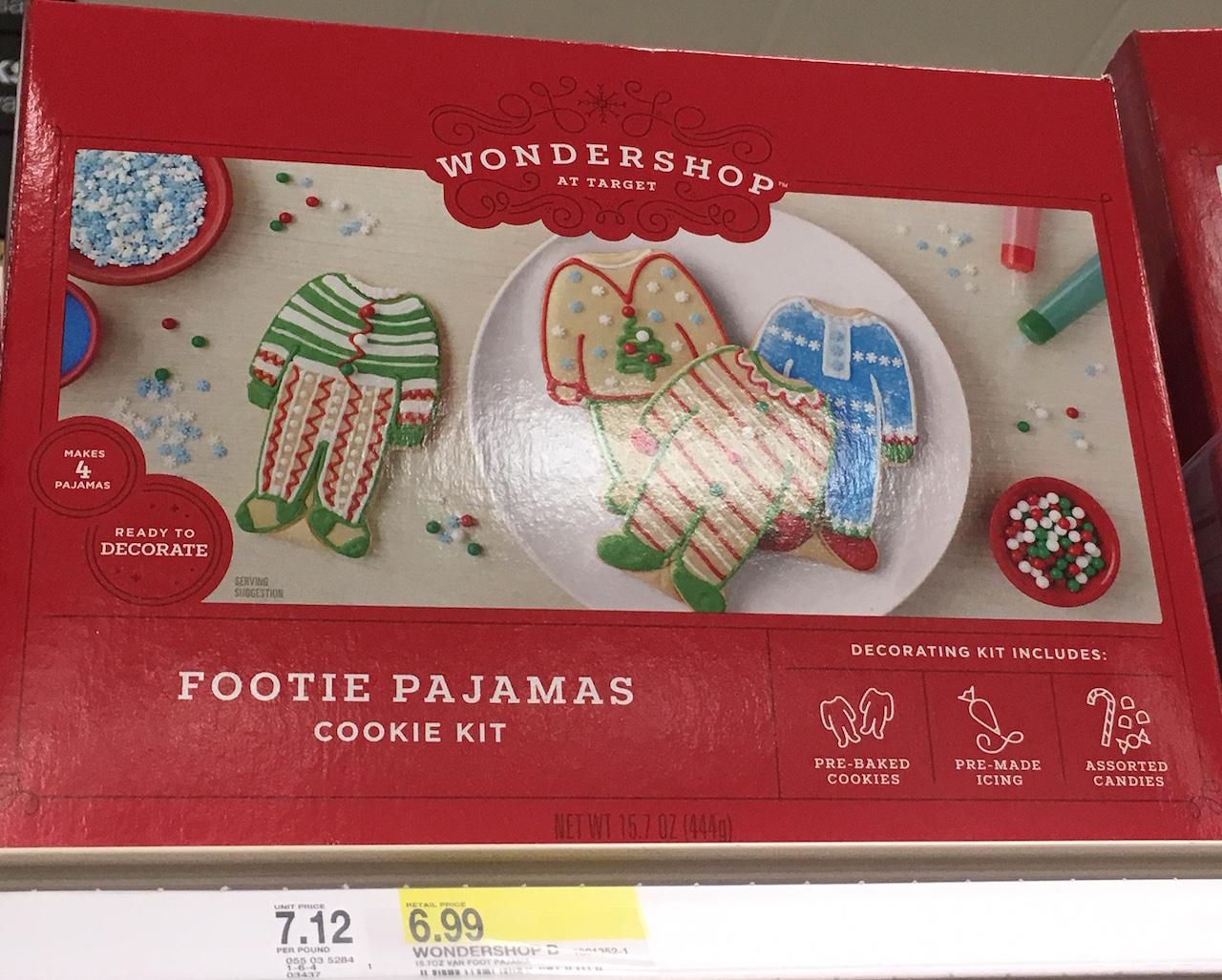 パジャマ型クッキーのキット