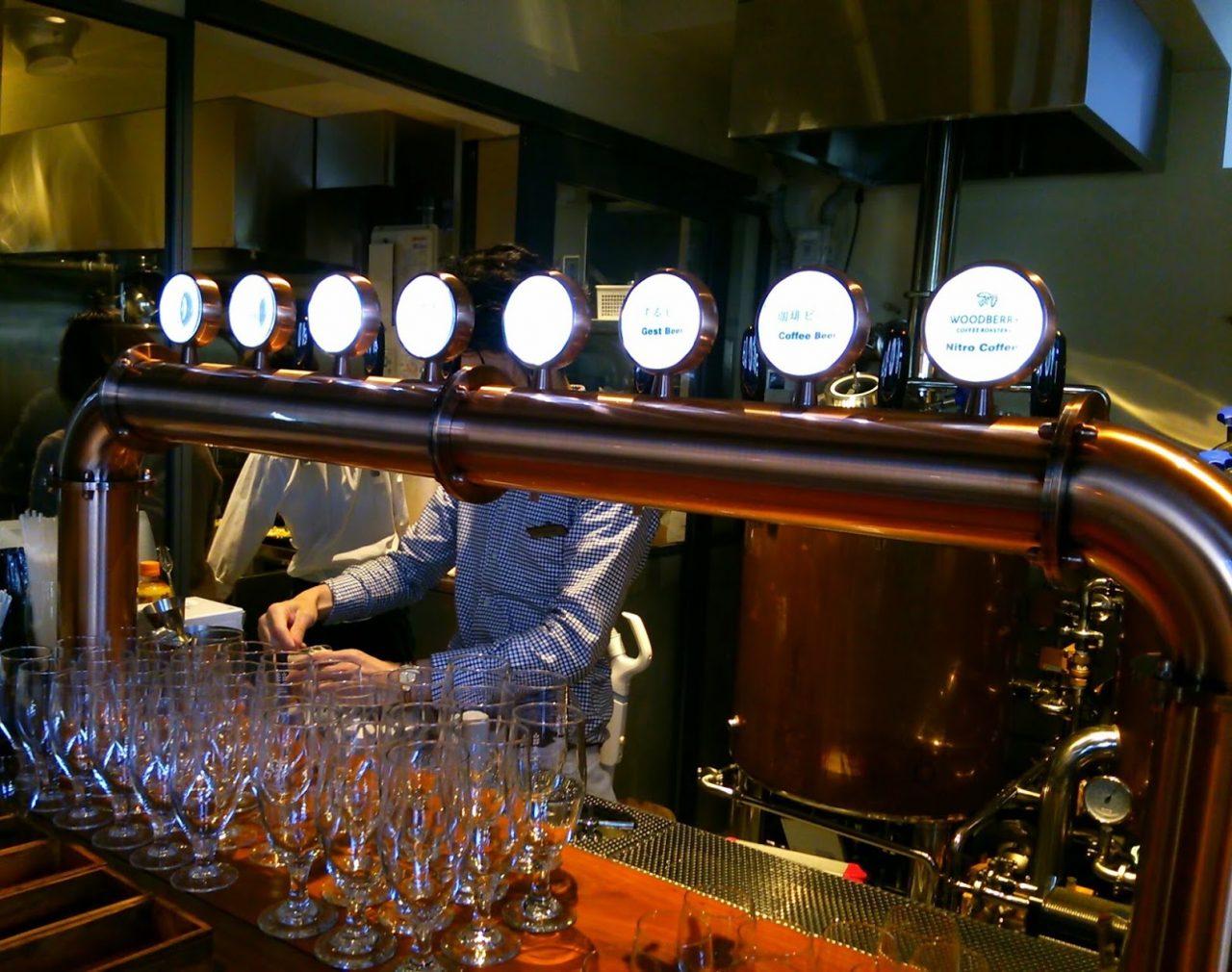 柳小路南角 ふたこビール醸造所 ビール2
