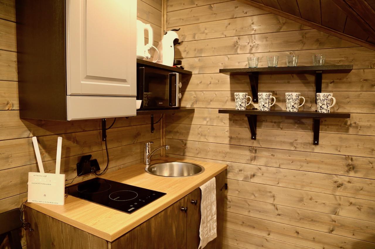 レヴォントゥリ・リゾート キッチン