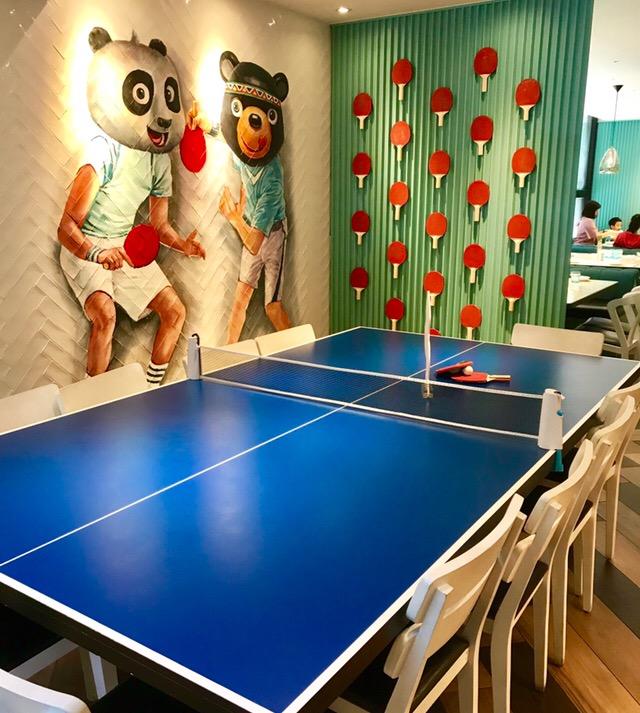 卓球台のテーブル